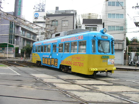 阪堺電車は正しくは阪堺電気軌道。大阪でたった一つ残る路面電車です。